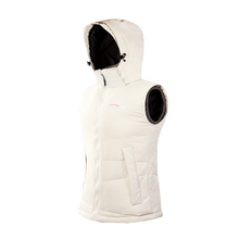 2015 fashion white duck down winter men's vest hooded waterproof waistcoat man down jackets M-3XL BXKMJ01(China (Mainland))