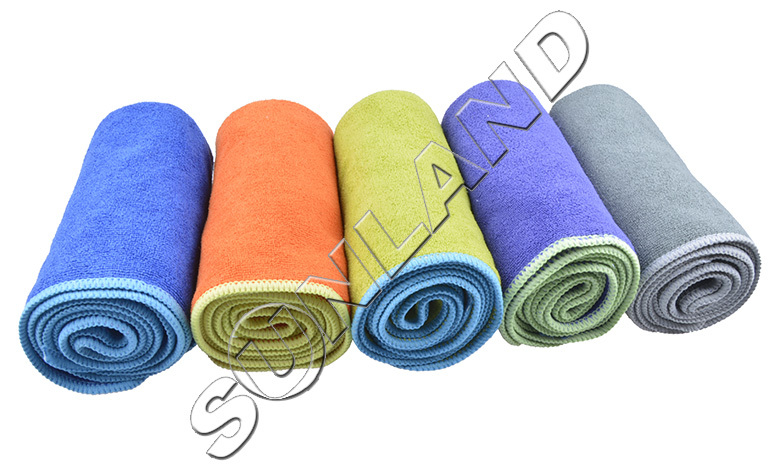 Sinland 3 PCS 33cmx74cm Microfiber Travel Camping Towel Sports Gym Fitness Hand Face Towels Ultra Absorbent & Lightweight(China (Mainland))