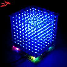 3D 8S 8x8x8 mini led electronic light cubeeds diy kit Christmas Gift/New Year gift - zirrfa Store store