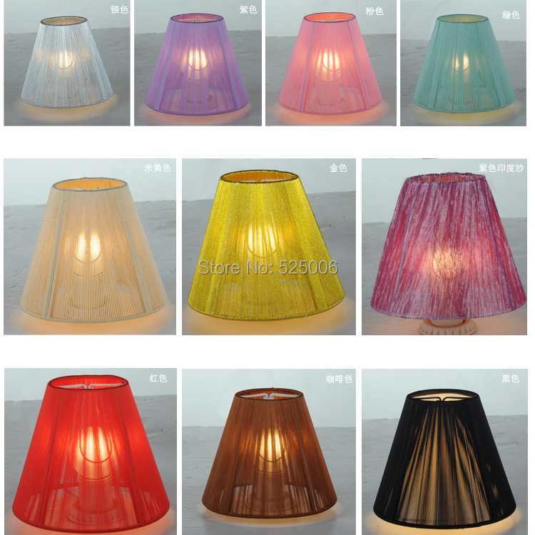 Multi Color Handmade Products Lamp Covers Shades Crystal