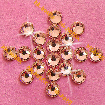GENUINE Swarovski Elements ss16 Vintage Pink ( 319 ) 720 pcs. Iron on 16ss Hot-fix Flatback Loose Beads 2038 Hotfix rhinestones