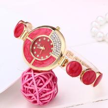 women's clothing & accessories  Women's fashion diamond watches Leisure business quartz watch  luxury brands waterproof watches
