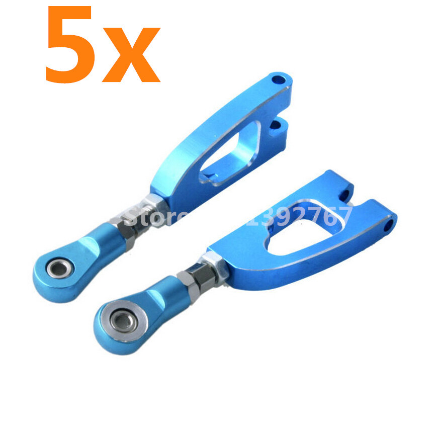 Wholesale 5Pair/Lot HSP Upgrade parts 188020 Alum.Rear Upper Arm 08070 Parts For 1/10 R/C Model Car Off Road Monster Truck 94188(China (Mainland))
