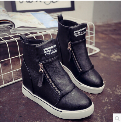 Shoes Woman Thick Warm Heavy-bottomed Autumn Snow Boots Female Boots Flat-bottomed Short Student-slip Shoes Ankle Boots Flats<br><br>Aliexpress
