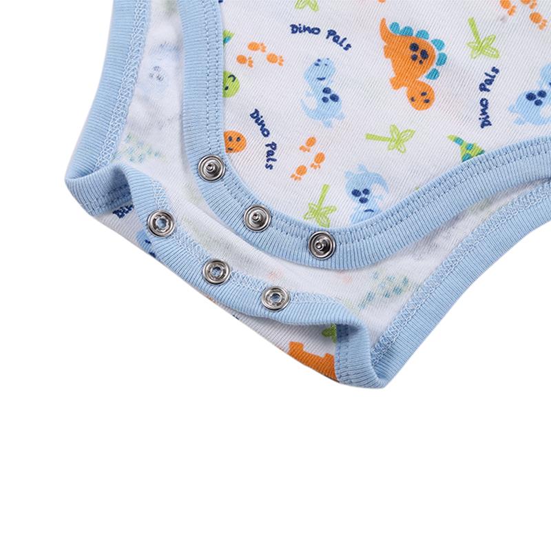 2017 New Mother nest Newborn 3 Sets 2 pics Bodysuits+1 pic Bib Baby Girls Clothes Body Infant Boys Bodysuit Summer Jumpsuit (3)