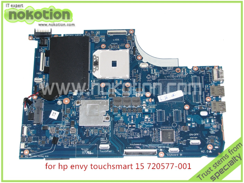 Фотография 720577-001 720577-501 Laptop Motherboard For HP Envy Touchsmart 15 15-J 15-J009WM 15-J073CL 15-J013 Mainboard