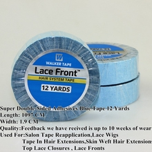 Lace Front Super Double-Sided Adhesives Tape For Hair Extensions Glue/Toupee Tape/Lace Wig Tape/Lace Front Tape/Skin Weft Hair(China (Mainland))