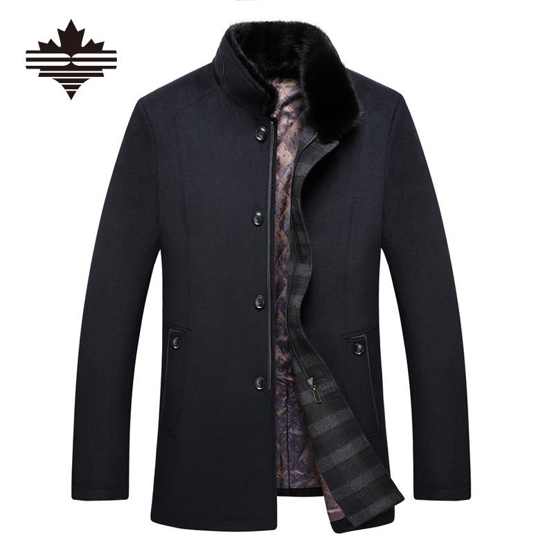 online kaufen gro handel herren tweed mantel aus china. Black Bedroom Furniture Sets. Home Design Ideas