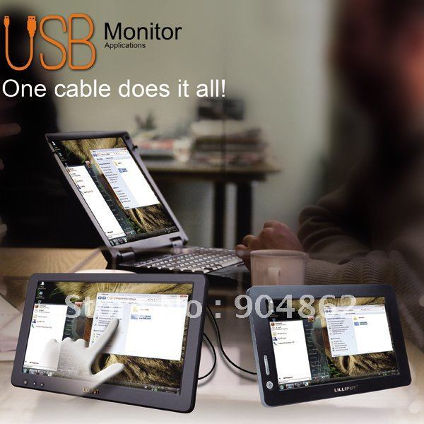 7'' Touch Screen USB Monitor