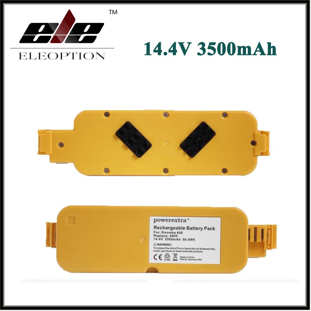 2x 14.4V 3500mAh Vacuum Battery APS For iRobot Roomba 400 405 410 415 416 418 Series 4000 4100 4105 4110 4210 4130 4232 4905(China (Mainland))