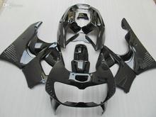 Motorcycle Fairing kit for HONDA CBR900RR 96 97 CBR 900RR CBR900 CBR 900 RR 893 1996 1997 all gloss black Fairings b(China (Mainland))