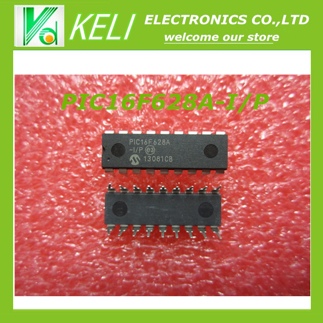 Гаджет  Free Shipping   5PCS PIC16F628A-I/P PIC16F628A PIC16F628 DIP Flash-Based, 8-Bit CMOS Microcontrollers with nanoWatt Technology None Электронные компоненты и материалы