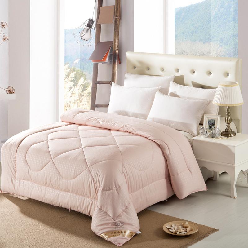 acheter haute qualit t hiver couette couettes en soie naturelle chaude. Black Bedroom Furniture Sets. Home Design Ideas