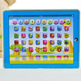 Spanish Language Children kid's toy comupter laptop computer letters Learning machine toys(China (Mainland))