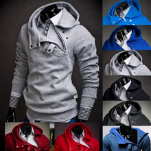 2016 Hoodies Men Sudaderas Hombre Hip Hop Mens Brand 7 Color Stitching Hedging Hoodie Sweatshirt Sport Suit Slim Fit Men Hoody