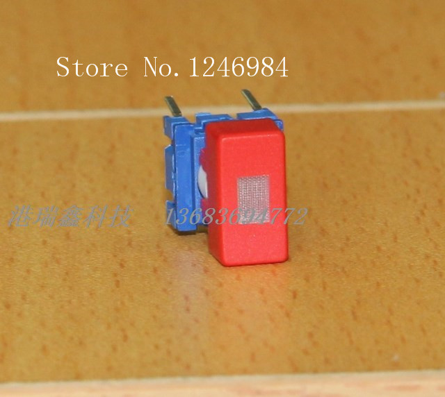 [SA]Denmark MEC red reset switch button switch micro switch 3FTL6 + 1Q 08 LIGHT--20pcs/lot<br><br>Aliexpress