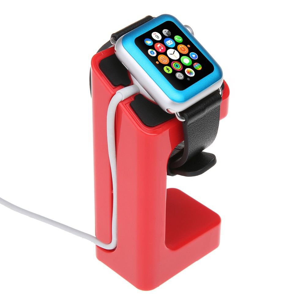 Latest Product Apple Watch Stand, iWatch Stand Bracket Docking Station Charger Holder for Both 38mm and 42mm(China (Mainland))
