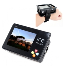 """Free shipping!IPC-1600 Portable Wrist 3.5"""" Touch LCD Screen IP Analog Network Camera Tester PTZ Control(China (Mainland))"""