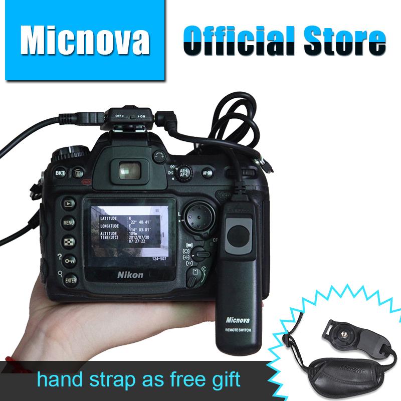 Micnova GPS N DSLR Camera GPS Receiver for Nikon D800 D3200 D90 D7100 D5200 D4 D600