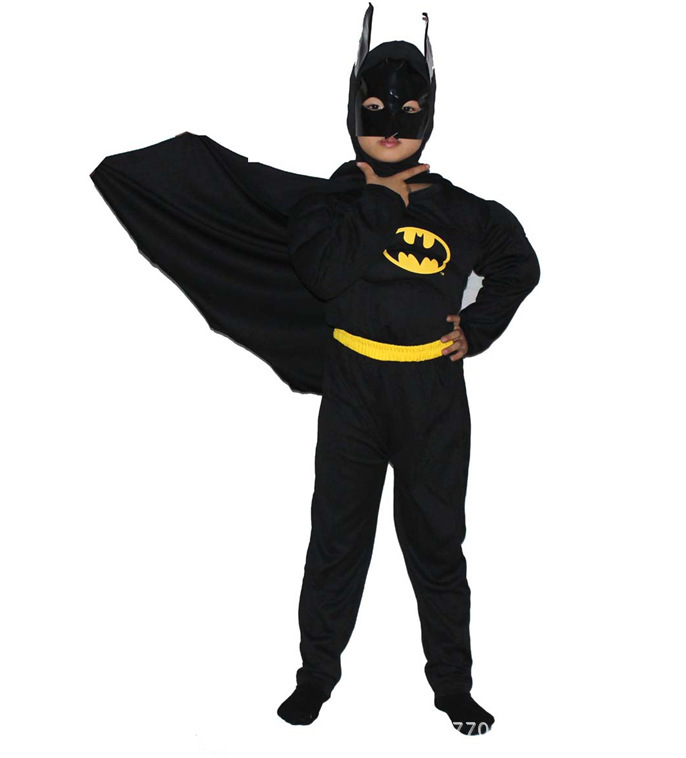 Batman costume Hot selling Cosplay Performance clothing Boys cartoon Suit WH002 - Fashion Store 520 store