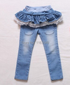 new spring autum 2016 summer fashion children baby kids denim brand jeans skirt pants trousers for