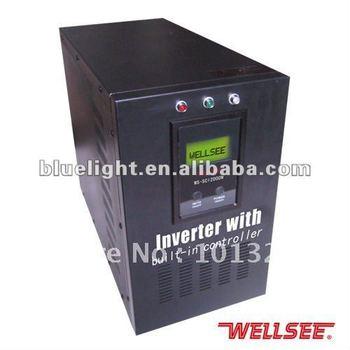 2000W Solar Inverter with built-in controller with 12V/24V/48V controller