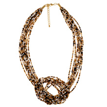 Lureme New Arrivals Bohemian wind Beads Necklace National Wind womens Beads Necklaces Dress Accessories Necklaces 2 Colors(China (Mainland))