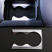 2016 ABS Car Styling Front Cup Holder Panel Sequins For Peugeot 408 2015-2016 Car Accessories Decoration Sequins(China (Mainland))