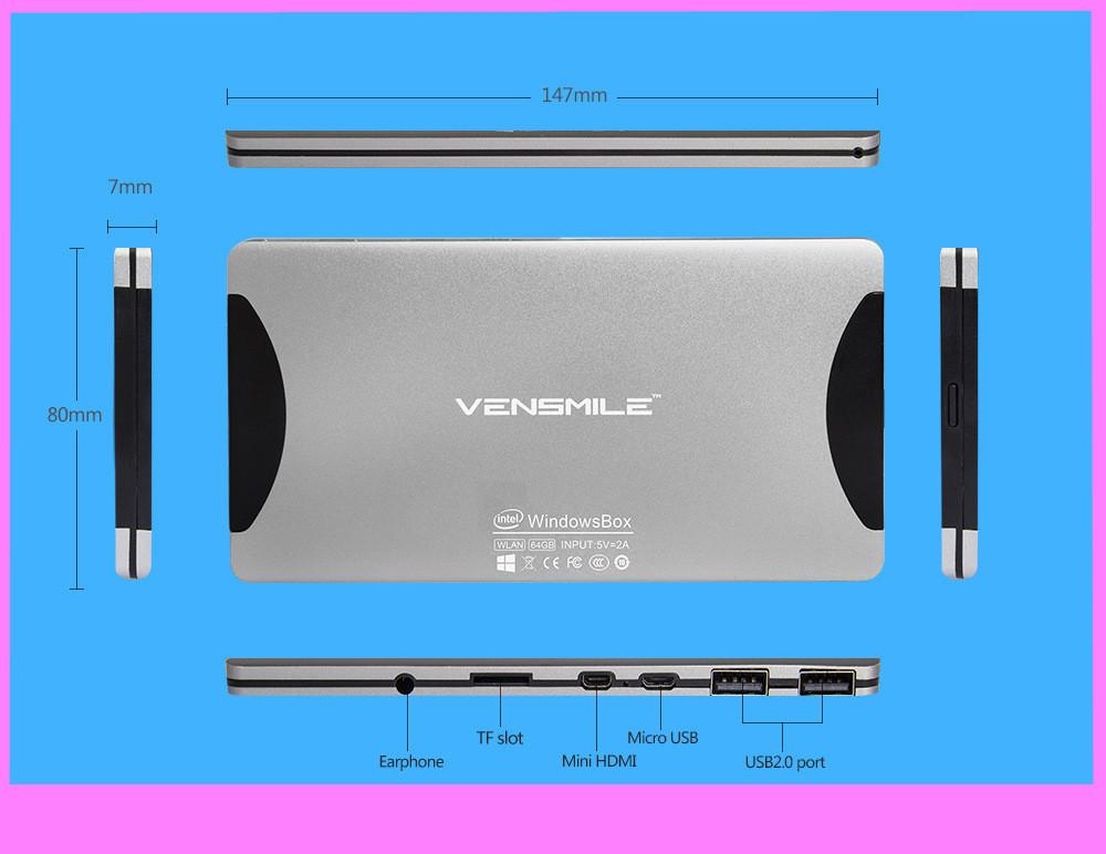 mini PC w8.1 W10 mini TV BOX Quad Core Intel Atom Z3735F 1.3Ghz Windows 8.1 HDMI TV Player 2GB/64GB mini computerPortable PC(China (Mainland))