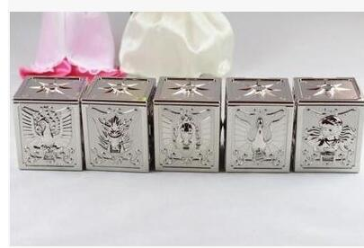 5pcs/set king model Saint Seiya pegasus + Draco Shiryu + Andromeda Shun + Phoenix Ikki + Cygnus Hyoga Bronze Pandora box pvc toy<br><br>Aliexpress