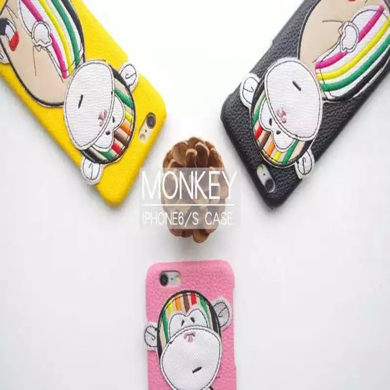 """2016 Torrey popular models tricolor monkey adorable monkey big Fan children stay for iPhone 6 6s 4.7 """"/ 6 plus 5.5"""" Phone cases(China (Mainland))"""