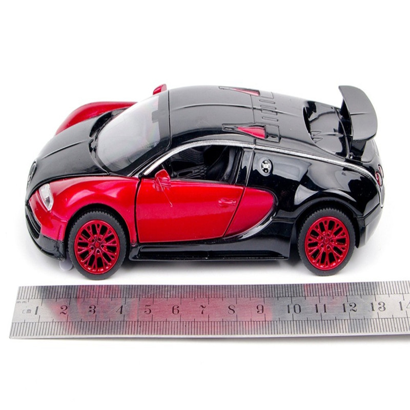New style 1:32 Bugatti Veyron Alloy Diecast car model collection light&amp;sound Red<br><br>Aliexpress