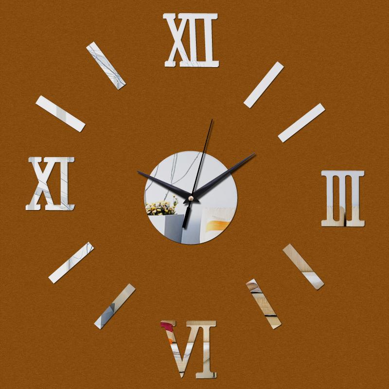 2016 hot sale wall clock horloge design living room needle for Modern living room clocks