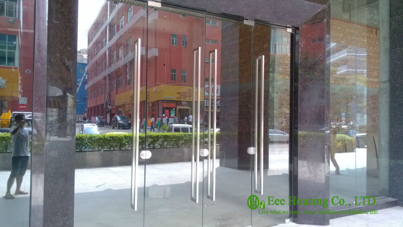 12mm Tempered Glass Commercial Frameless Glass Doors Manufacturer Commercial