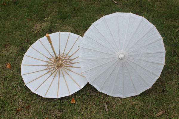 White Paper Parasol Paper Parasols For Wedding