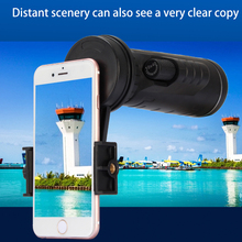 Buy Universal 10x40 Hiking Concert Camera Lens Monocular Zoom Phone Telescope Camera Lens Phone Holder + Clip Smartphone for $20.21 in AliExpress store