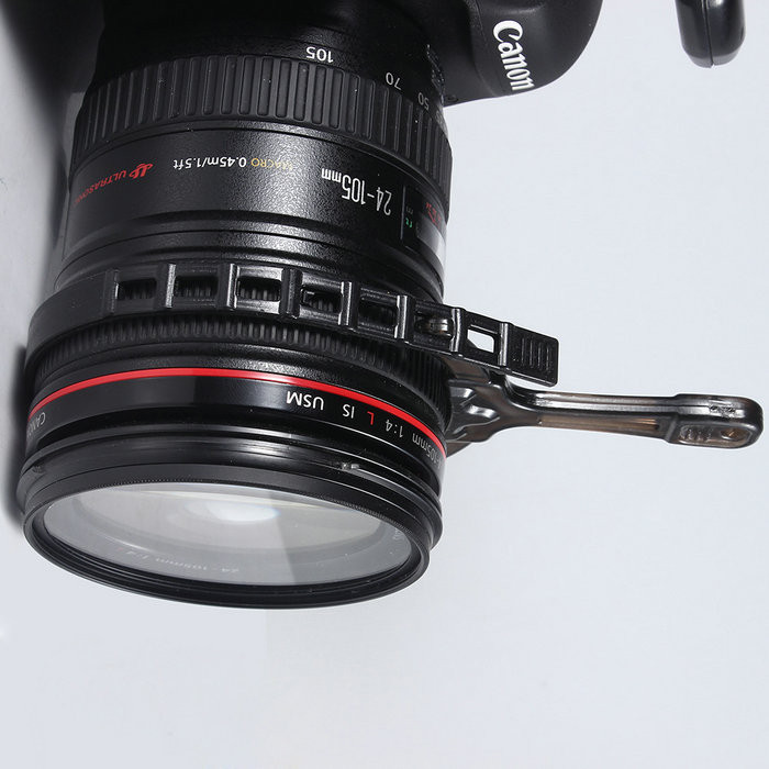 Adjustable Manual Follow Focus Zoom Ring Lens Mount For