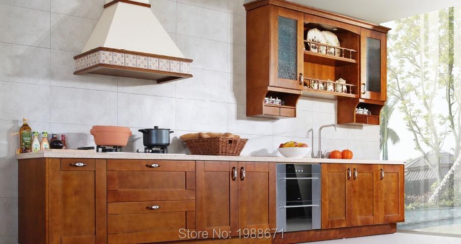 Prefab Wooden Kitchen Cabinet Simple Designs <br><br>Aliexpress