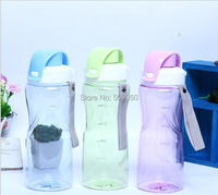 600ml  Creative Technology   Fitness Sports Water Bottles With rope convinent  Free shipping drink cup
