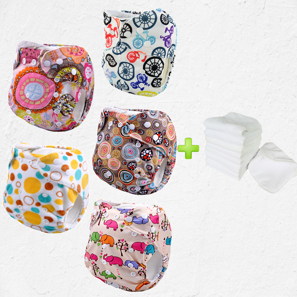 baby cloth diaper babyland papoose 5pcs+5pcs microfiber inserts wholesale manufacturer price from reliable cloth diaper <br><br>Aliexpress