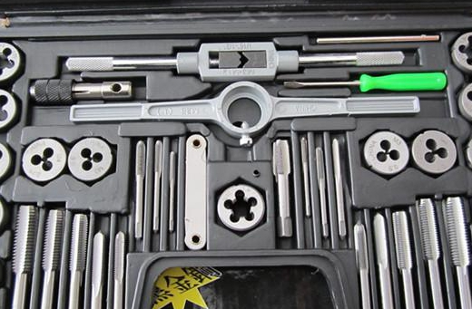 N-C40 member sets Hand taps Dies 30.5 121.75 Suit set wrench hand tapping cutter