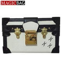 MAGICBAG 2015 Luxury Designer Women Messenger Bag High Quality Famous Brand Leather Box Party Clutch Handbag Lady Shoulder Bags
