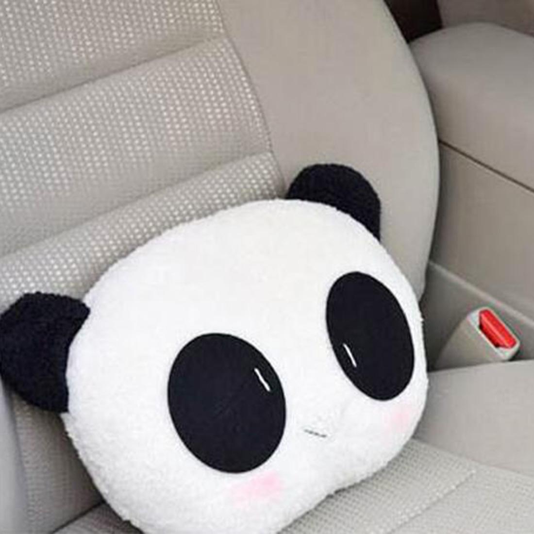 Cute Car Headrest Pillow : ?Remarkable Super Cute ?? Panda Panda Plush Auto Waist Cushion Seat Neck ? Rest Rest Headrest ...
