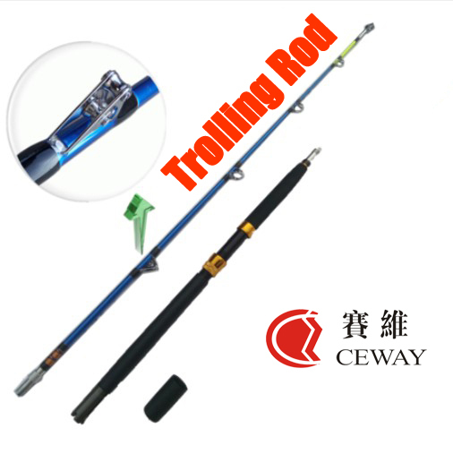 Carbon fishing rod TROLLING ROD SPIGOT CONNECTION POWER CARBON JIGGING ROD boat rod fishing tackle 2 sections 1.8m FREE SHIPPING<br><br>Aliexpress