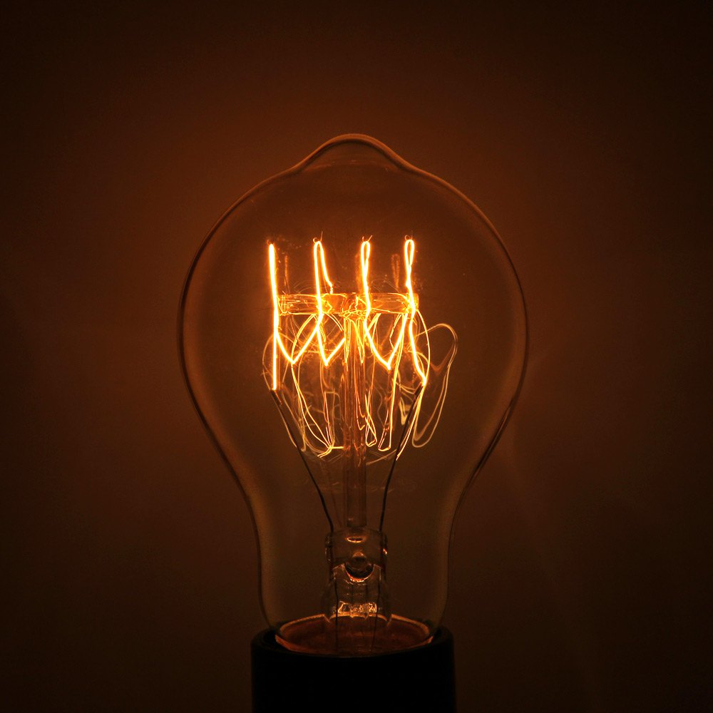 YouOKLight E27 40W 400Lm 3000K 220V Retro Style Tungsten Filament Bulb Light 1221399<br><br>Aliexpress