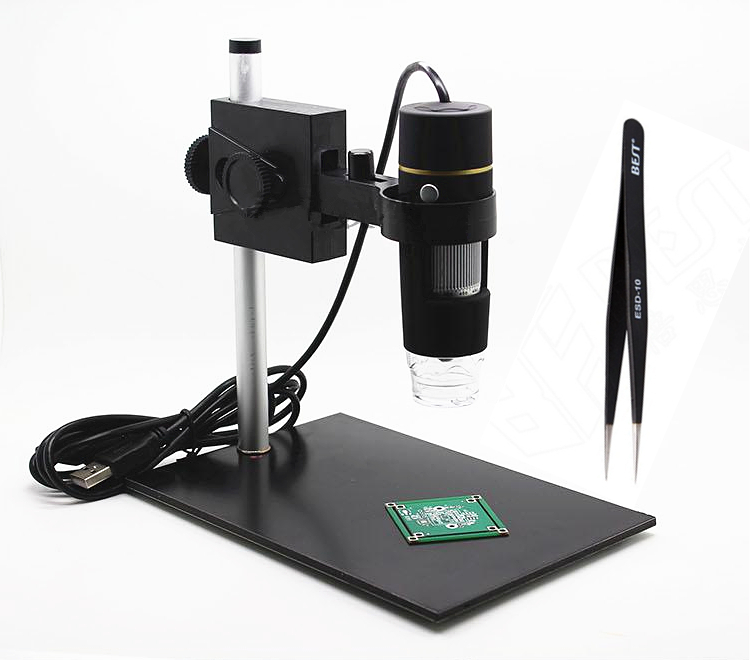 usb microscope Repair Magnifier 8 LED 1000x USB Digital Microscope holder(new),Magnification  Soldering Stand Lamp<br><br>Aliexpress