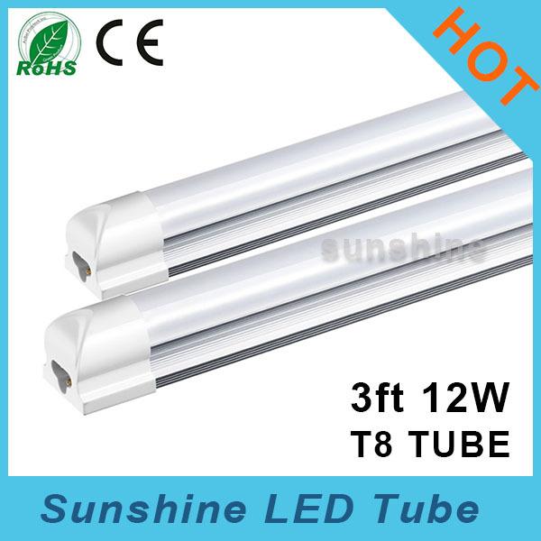 Whole Sale New Integrated 900mm Led Tube T8 0.9m Epistar G10 Bar 110-240v Tubo Lamp Light 90cm Flicker Free Tubes ce rohs(China (Mainland))