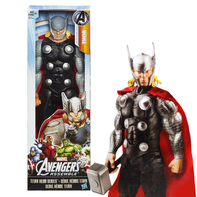 """Ultimate Marvel Avengers Thor PVC Action Figure Brinquedos Collectible Model Toy 12"""" 30cm"""