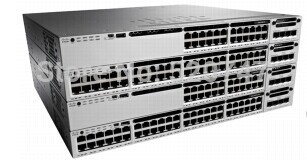 100% New licensed CISCO WS-C3850-24T-L 24 gigabit switches, you can control the wireless AP switch(China (Mainland))