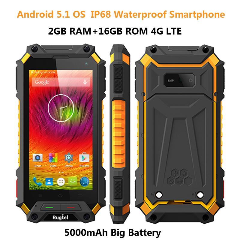 buy ip68 rugged waterproof phone 4g lte smartphone android shockproof mobile. Black Bedroom Furniture Sets. Home Design Ideas